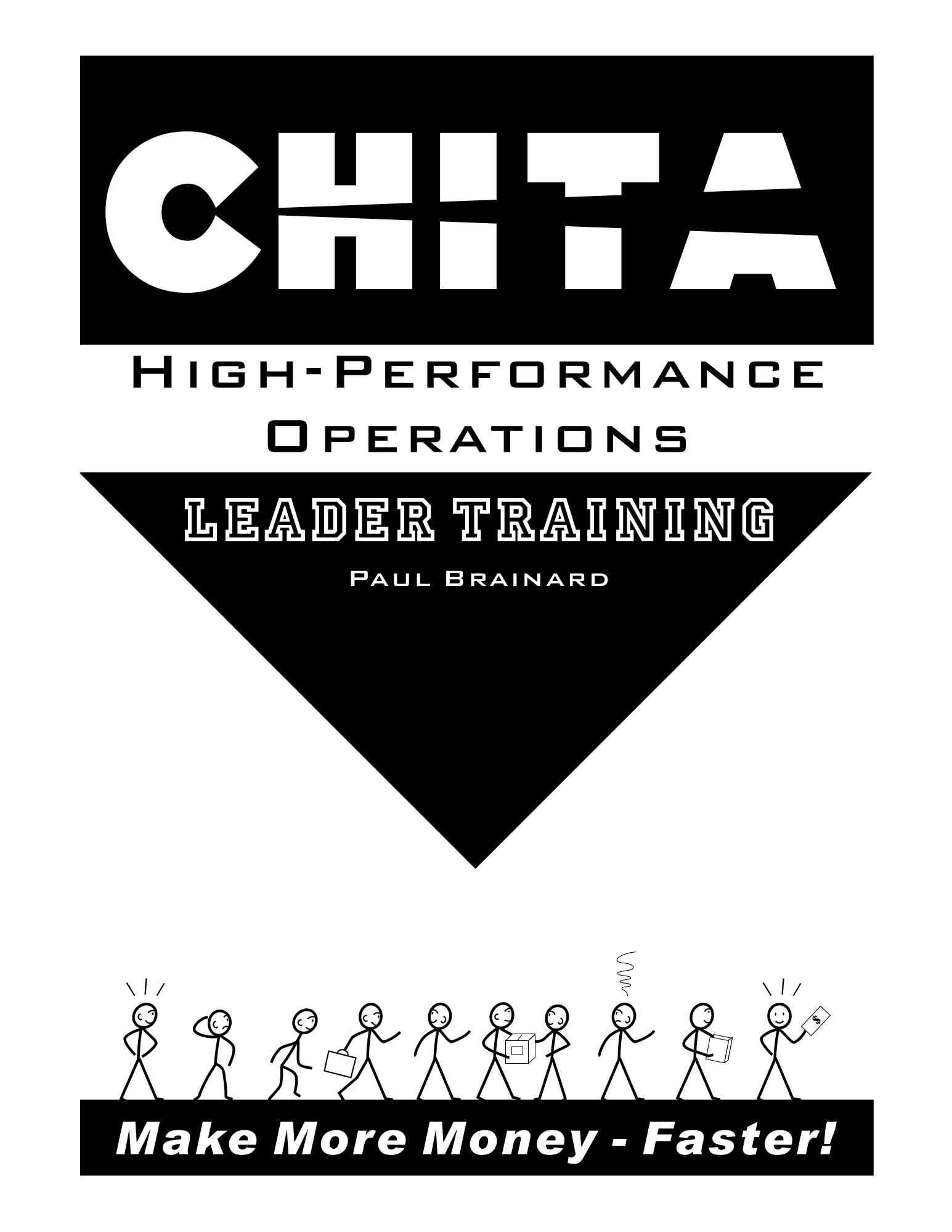 CHITA High-Performance Operations Leader Training